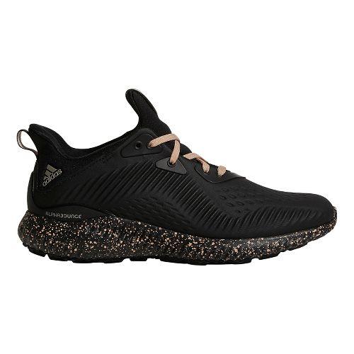 Womens adidas AlphaBounce 1 Running Shoe - Black/Ash Pearl 9.5