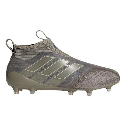 Mens adidas Ace 17+ Purecontrol Firm Ground Cleated Shoe - Clay/Clay/Sesame 8.5