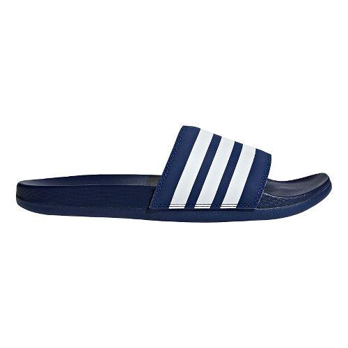 Mens adidas Adilette CF+ Sandals Shoe - Navy/White/Navy 10