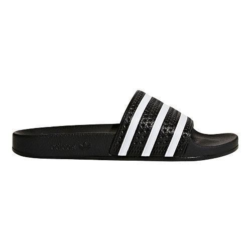 Mens adidas Adilette Slides Sandals Shoe - Core Black 14