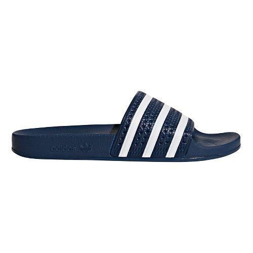 Mens adidas Adilette Slides Sandals Shoe - Adi Blue 12