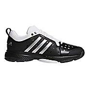 Mens adidas Barricade Classic Bounce Court Shoe - Black/Silver/White 6.5