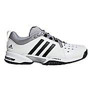 Mens adidas Barricade Classic Bounce Court Shoe - White/Black/Grey 7