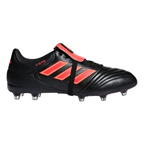Mens adidas Copa Gloro 17.2 FG Casual Shoe - Black/Red 9.5
