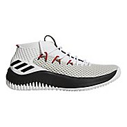 Mens adidas Dame 4 Court Shoe