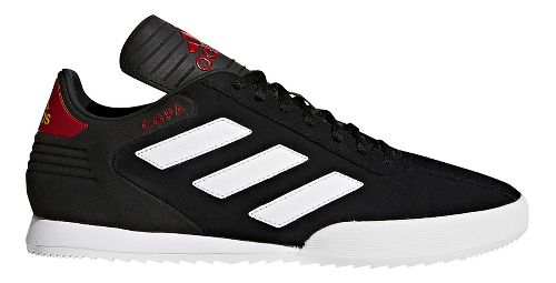 Mens adidas Copa Super Casual Shoe - White/Black/Red 10.5
