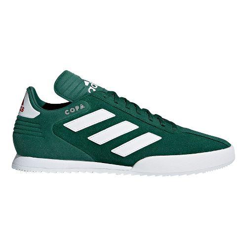Mens adidas Copa Super Casual Shoe - Green/White/Scarlet 13