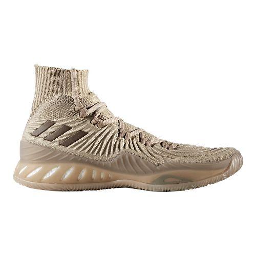 Mens adidas Crazy Explosive 2017 Primeknit Court Shoe - Khaki/Brown/Khaki 13