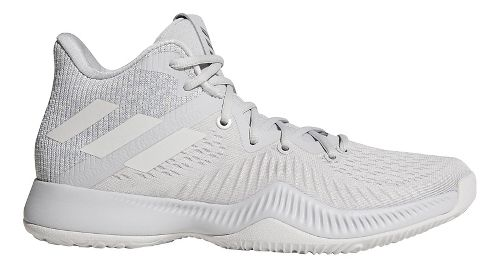 Mens adidas Mad Bounce Court Shoe - Grey/White 10.5