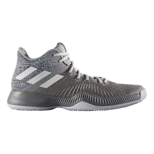 Mens adidas Mad Bounce Court Shoe - Grey/White/Grey 9