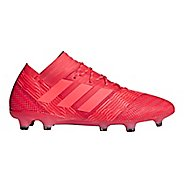 Mens adidas Nemeziz 18.1 Firm Ground Cleated Shoe - Red/Red/Black 10.5