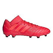 Mens adidas Nemeziz 18.3 Firm Ground Cleated Shoe - Coral/Red/Black 9.5