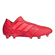 Mens adidas Nemeziz 18+ 360 Agility Firm Ground Cleated Shoe - Red/Red/Coral 10.5