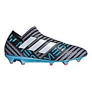 Mens adidas Nemeziz Messi 18+ 360 Agility Firm Ground Cleated Shoe - Grey/White/Black 10
