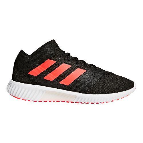 Mens adidas Nemeziz Tango 18.1 Running Shoe - Black/Infrared/White 7.5