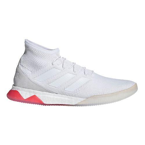 Mens adidas Predator Tango 18.1 Running Shoe - White/White 9.5