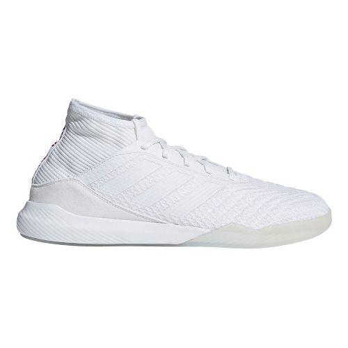 Mens adidas Predator Tango 18.3 Running Shoe - White/Black 8.5