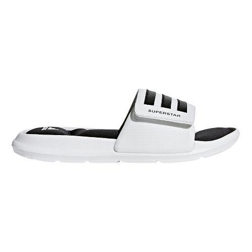 Mens adidas Superstar 5G Sandals Shoe - White/Black/White 11