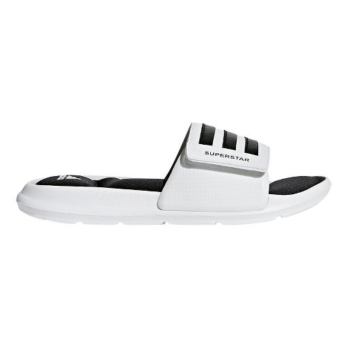 Mens adidas Superstar 5G Sandals Shoe - White/Black/White 13