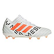 Mens adidas Nemeziz 17.1 Firm Ground Cleated Shoe - White/Orange/Grey 10.5
