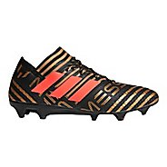 Mens adidas Nemeziz Messi 18.1 Firm Ground Cleated Shoe - Black/Red/Gold 10.5