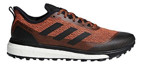 Mens adidas Response Trail Running Shoe - Orange/Black 8