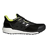 Mens adidas Supernova GTX Running Shoe - Black/Black/Yellow 8
