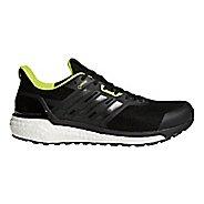 Mens adidas Supernova GTX Running Shoe - Black/Black/Yellow 8.5