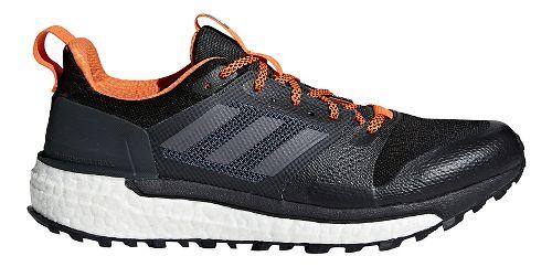 Mens adidas Supernova Trail Running Shoe - Black Multi 12.5