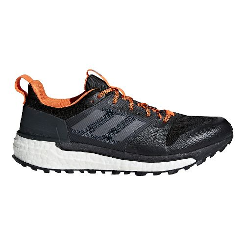 Mens adidas Supernova Trail Running Shoe - Black Multi 12