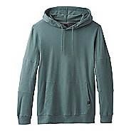 Mens Prana Sector Hoodie Half-Zips & Hoodies Technical Tops - Starling Green L