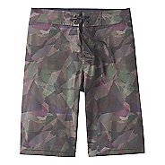 Mens Prana Sediment Unlined Shorts - Green Hex 34