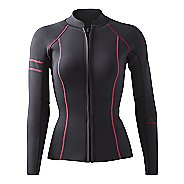 Womens Prana Mara Jacket  Swim - Black Pop S