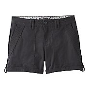 Womens Prana Mari Unlined Shorts - Black 12