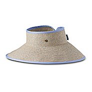 Womens Prana Denna Packable Visor Headwear - Sunbleached Blue