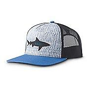 Mens Prana Journeyman Trucker Headwear - Shark Bait