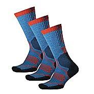 Thorlos Outdoor Fanatic Crew 3 Pack Socks - Glacier Blue S