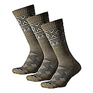 Thorlos Outdoor Traveler Crew 3 Pack Socks - Hazelnut/Pine XL