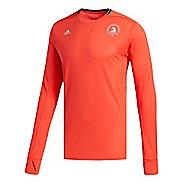 Mens adidas Boston Marathon Supernova T-Shirt Long Sleeve Technical Tops