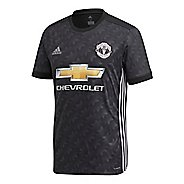 Mens adidas Manchester United Away Replica Jersey Short Sleeve Technical Tops