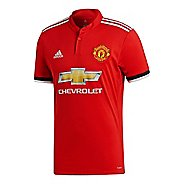 Mens adidas Manchester United Home Replica Jersey Short Sleeve Technical Tops