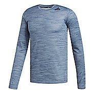 Mens adidas Ultimate Tech T-Shirt Long Sleeve Technical Tops