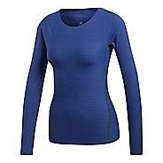 Womens adidas Alphaskin 360 T-Shirt Long Sleeve Technical Tops
