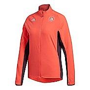 Womens adidas Boston Marathon Supernova Storm Rain Jackets