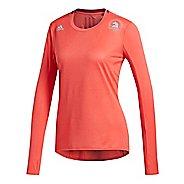 Womens adidas Boston Marathon Supernova T-Shirt Long Sleeve Technical Tops