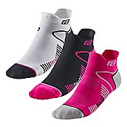R-Gear Super Performance Thin No Show Tab 3 pack Socks