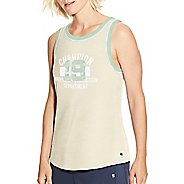 Womens Champion Heritage Ringer - Phys Ed Dept Sleeveless and Tank Technical Tops