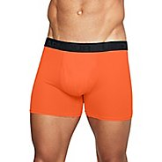 Mens Under Armour Threadborne Microthread 6'' Jock Underwear Bottoms