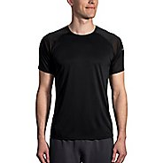 Mens Brooks Stealth Short Sleeve Technical Tops