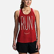 Womens Distance Graphic Sleeveless & Tank Technical Tops